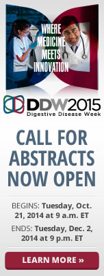 Submit Abstract for DDW 2015 Annual Meeting